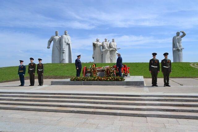 Мемориал героям-панфиловцам в Дубосеково (близ Волоколамска)