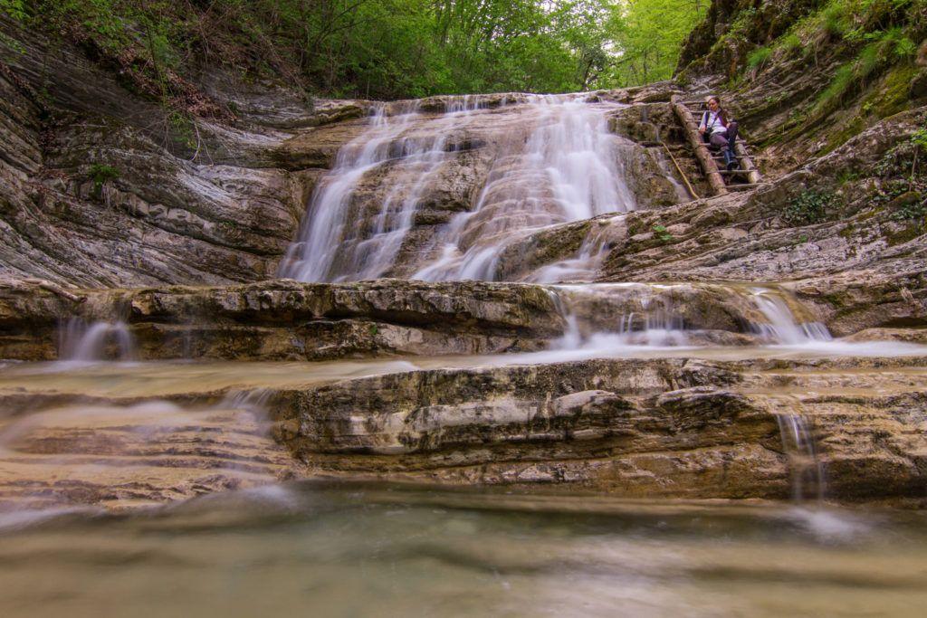 Плесецкие водопады близ Двиноморского