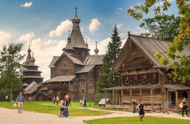 Музей деревянного зодчества «Витославлицы» в Великом Новгороде