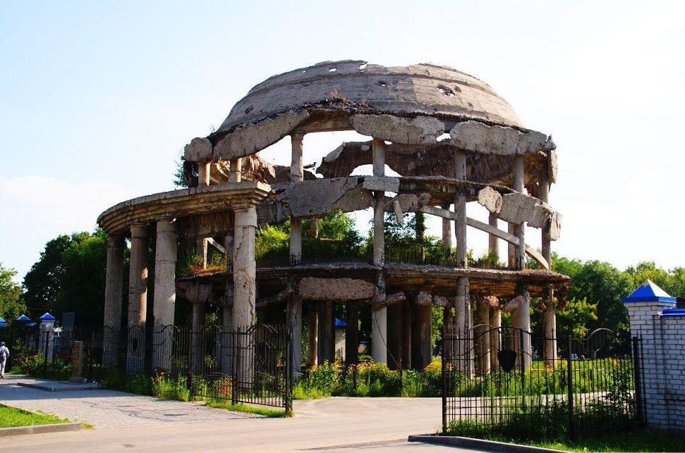 Ротонда в Воронеже