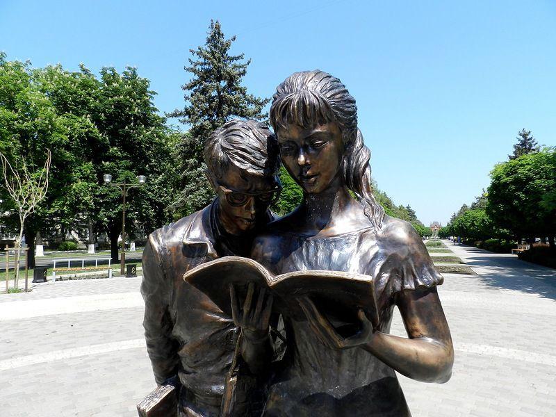 Памятник студентам в Краснодаре