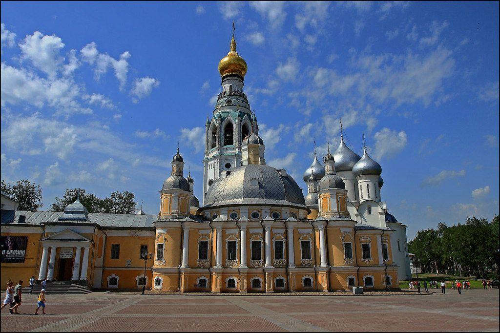 Воскресенский собор в городе Вологда