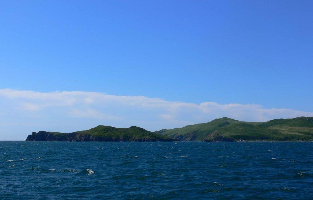 Острова императрицы Евгении в заливе Петра Великого близ Владивостока