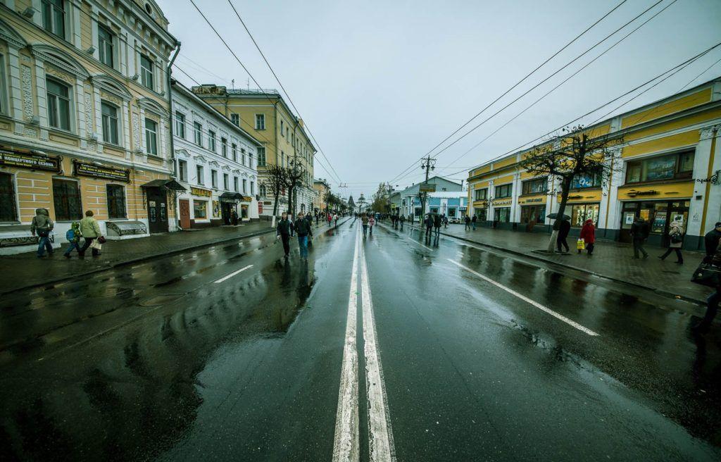 Большая Московская улица во Владимире