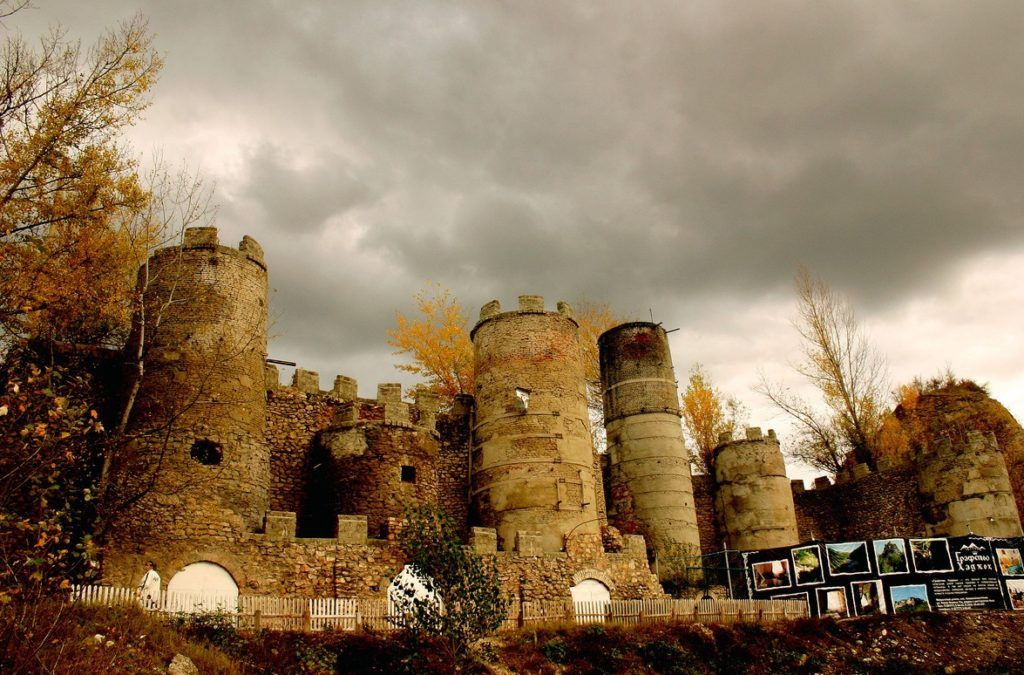 Крепость Меот близ Майкопа, Адыгея