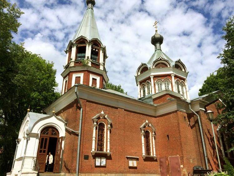 Церковь иконы «Всех скорбящих Радость» , город Клин
