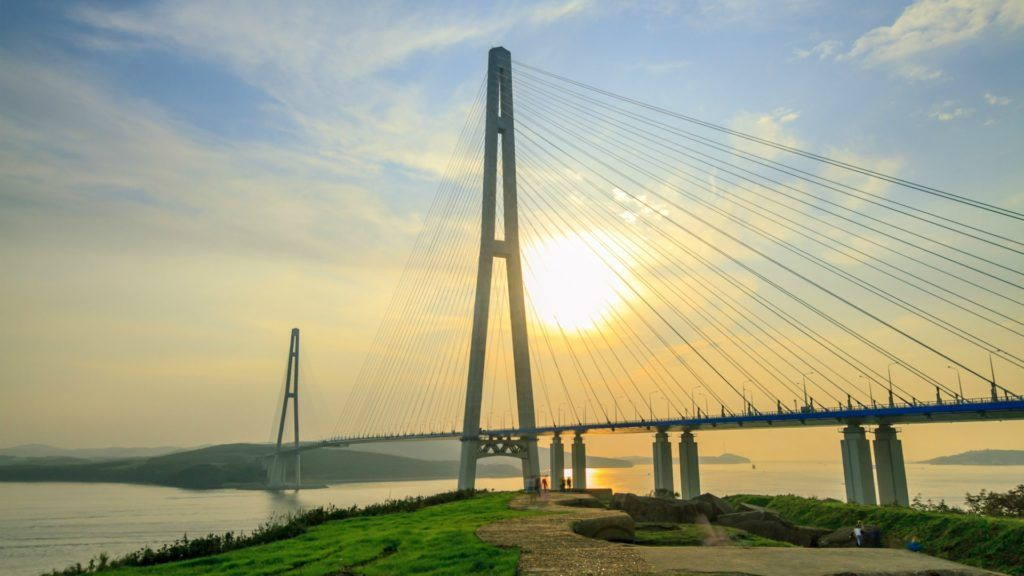 Русский мост во Владивостоке