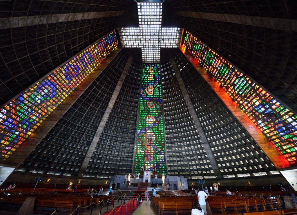 Бразилия, Рио Де Жанейро, Собор Святого Себастьяна