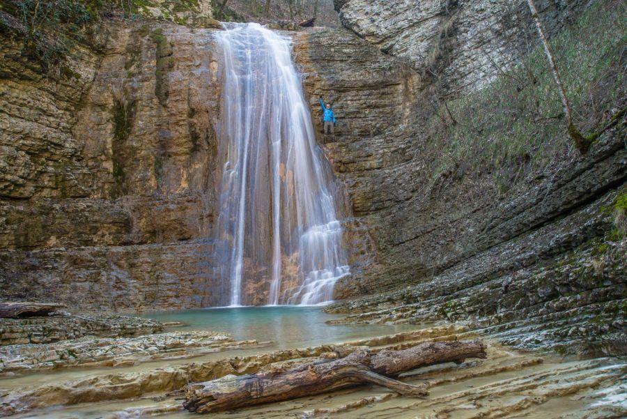 Полковничьи водопады близ Джубги