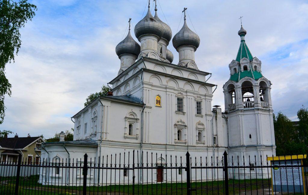 Храм Константина и Елены в Вологде