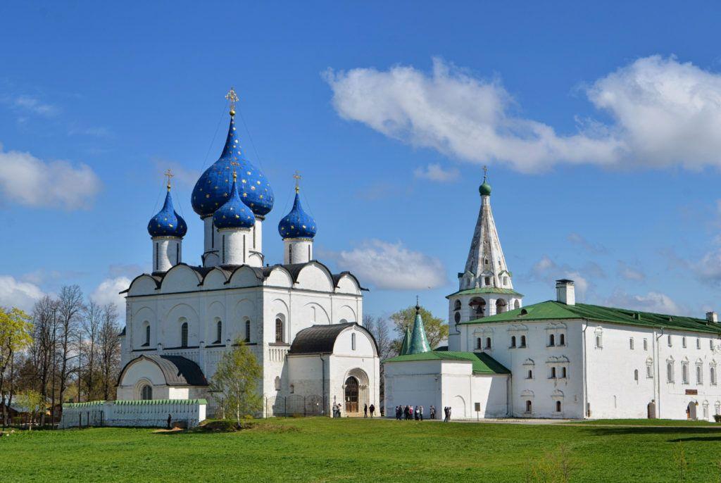 Суздальский Кремль в городе Суздаль близ Владимира