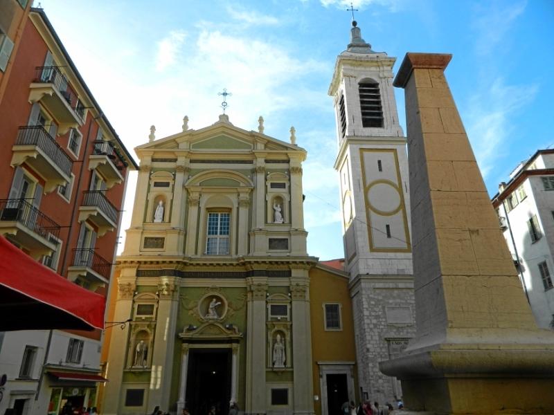 Кафедральный собор Св. Репараты в городе Ницца, Франция