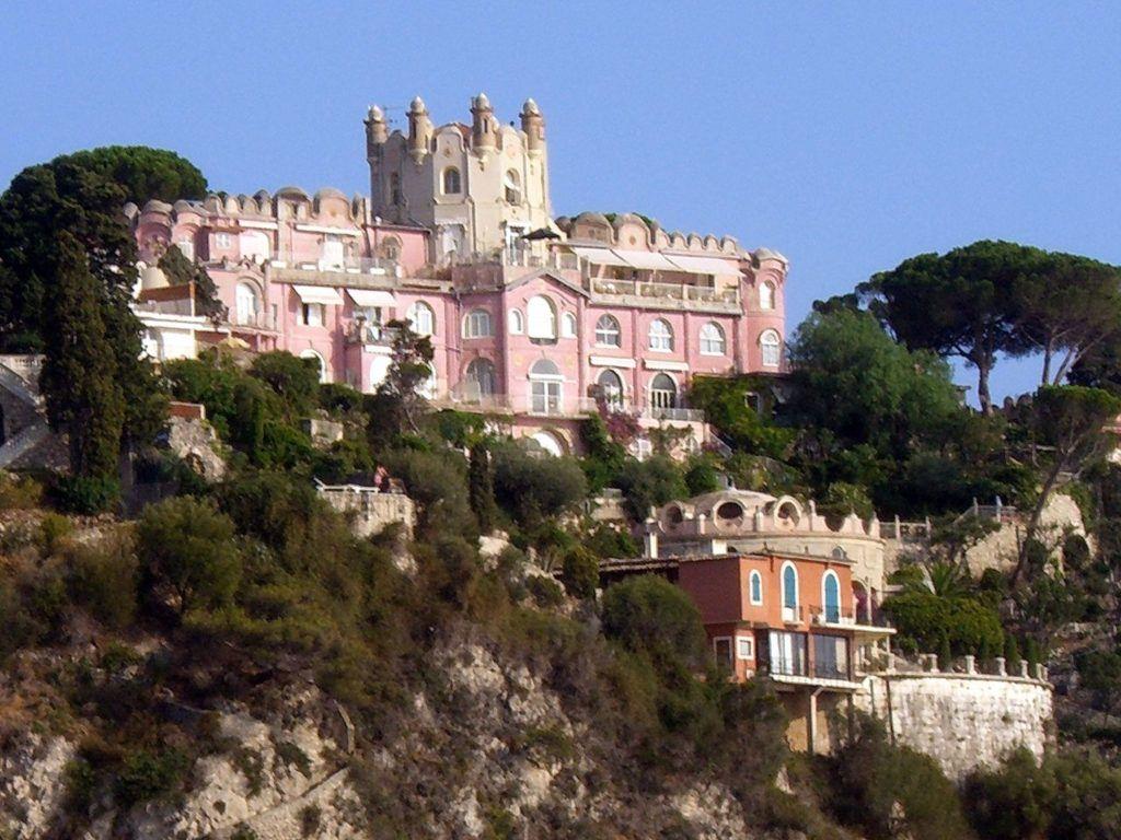 Замок Мон Борон во Франции, Ницца