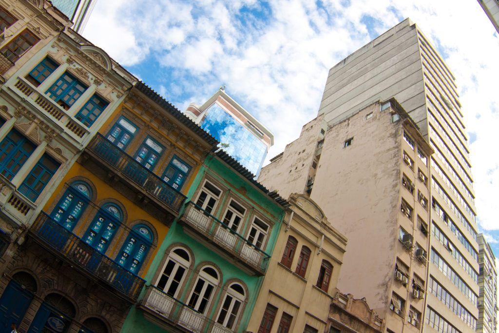 Бразилия, Рио Де Жанейро, Старый город