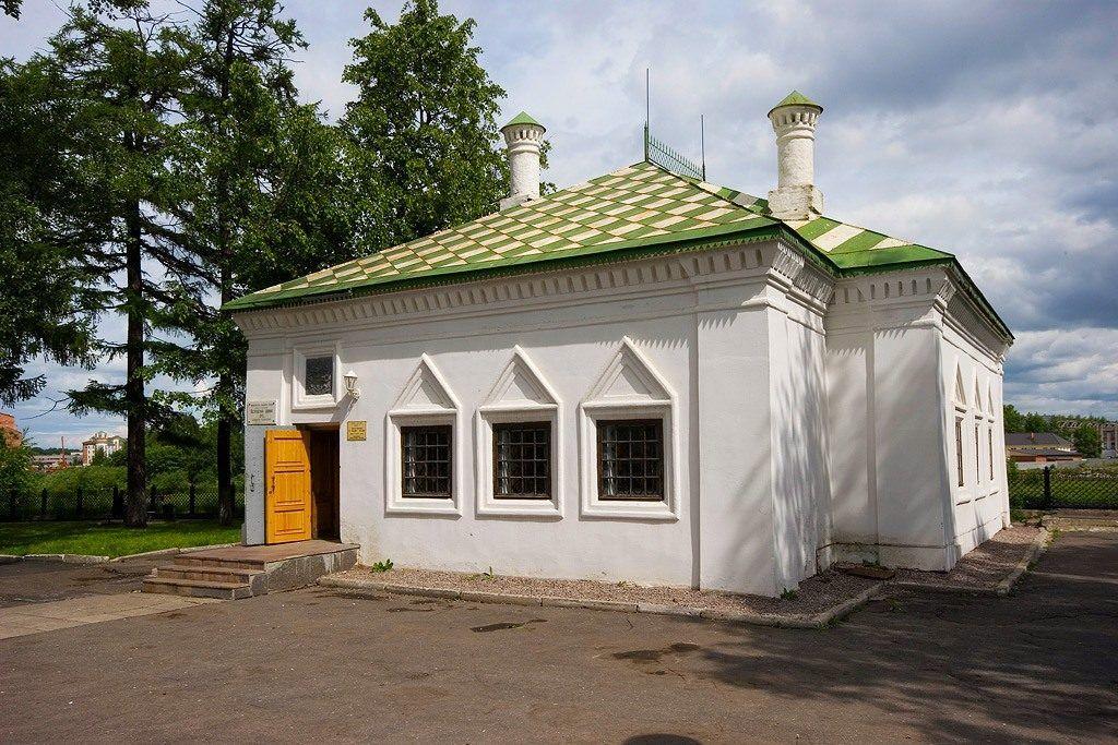 Дом-музей Петра I в городе Вологда