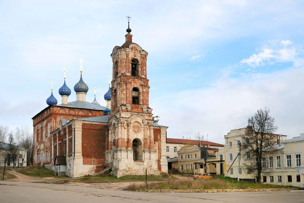 Успенский собор в городе Касимов
