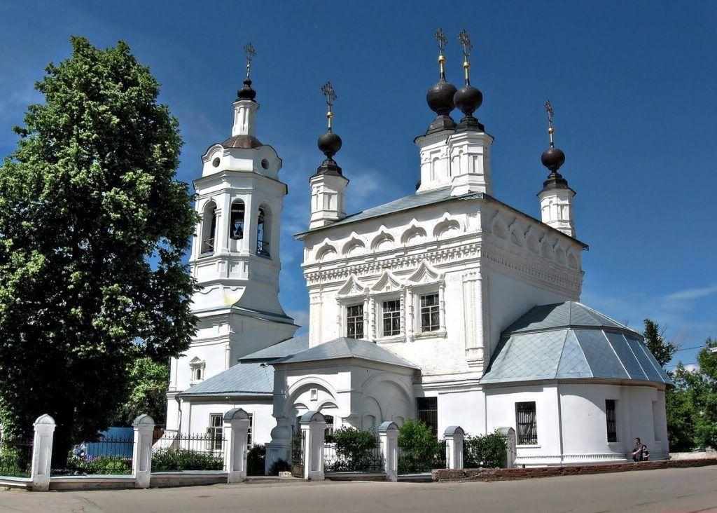 Церковь Покрова Богородицы на рву, г.Калуга