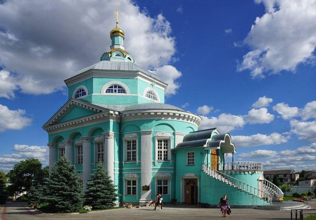 Алексеево-Акатов монастырь в городе Воронеж
