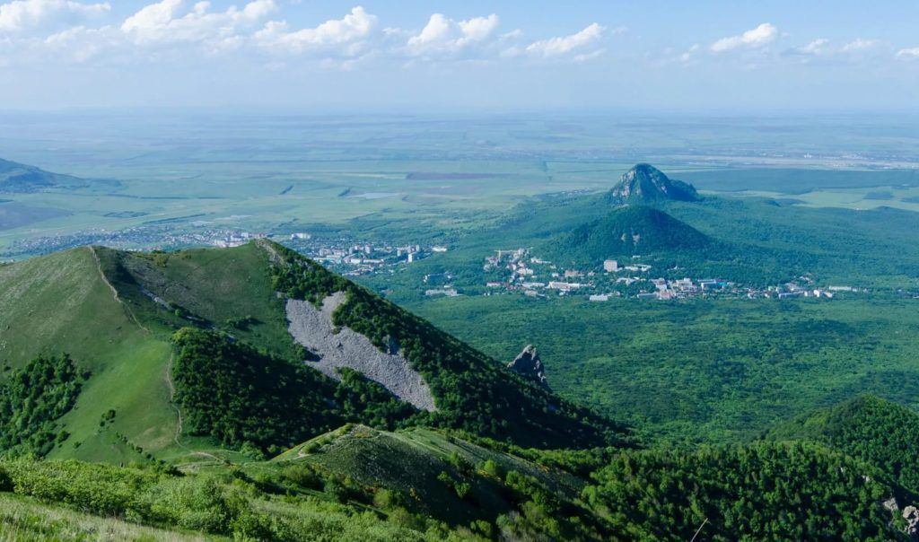 Гора Бештау близ Железноводска