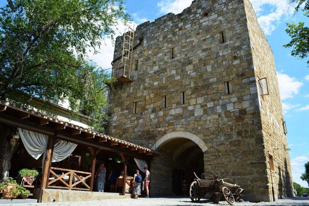 Ворота крепости Гезлев (Евпатория)