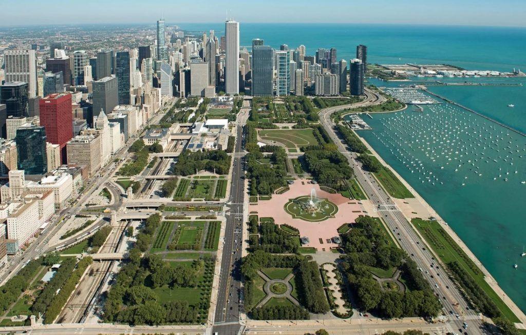 Гранд-парк в Чикаго