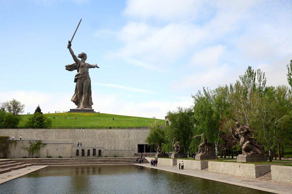 «Площадь героев», Мамаев Курган, Волгоград