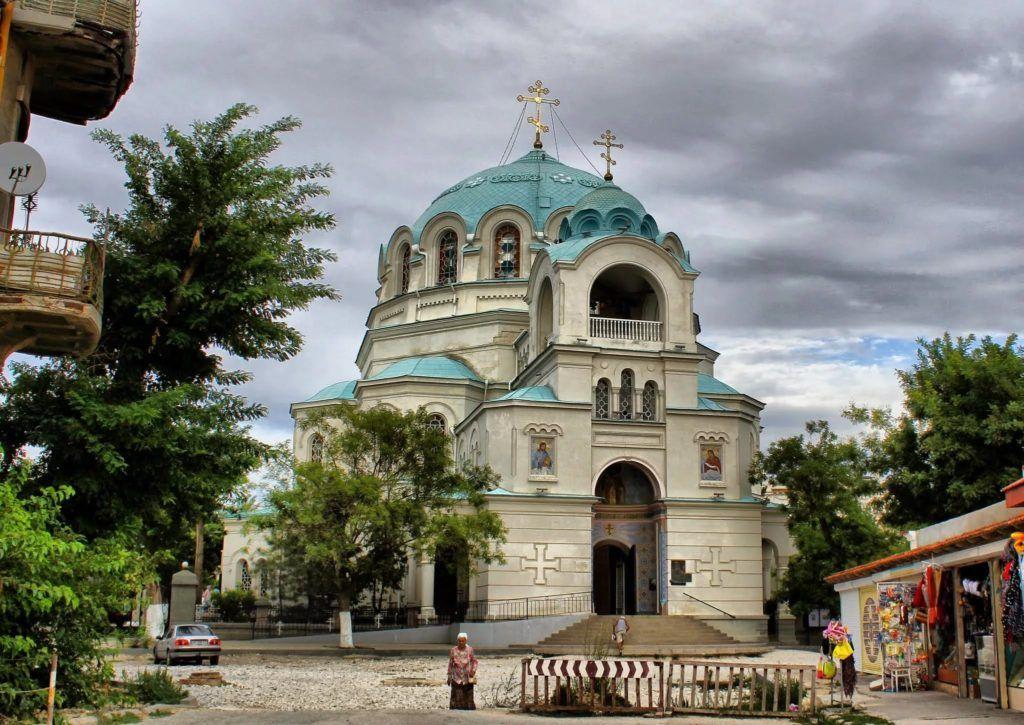 Николаевский собор на курорте Евпатория
