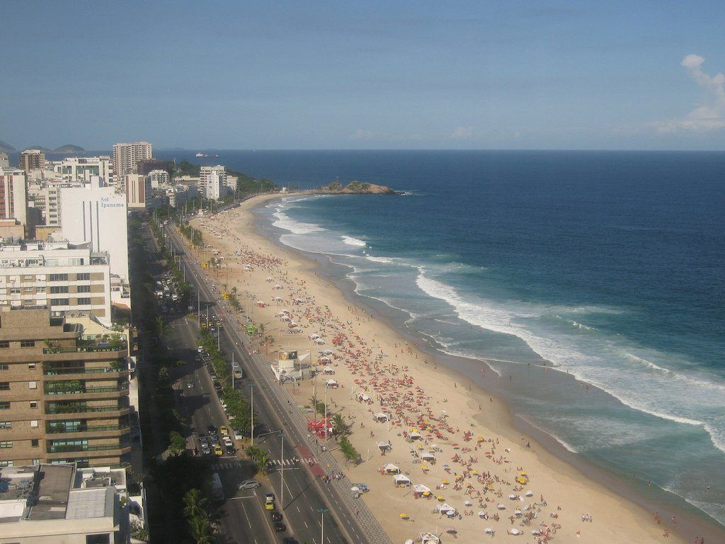 Бразилия, Рио Де Жанейро, Пляж Ипанема