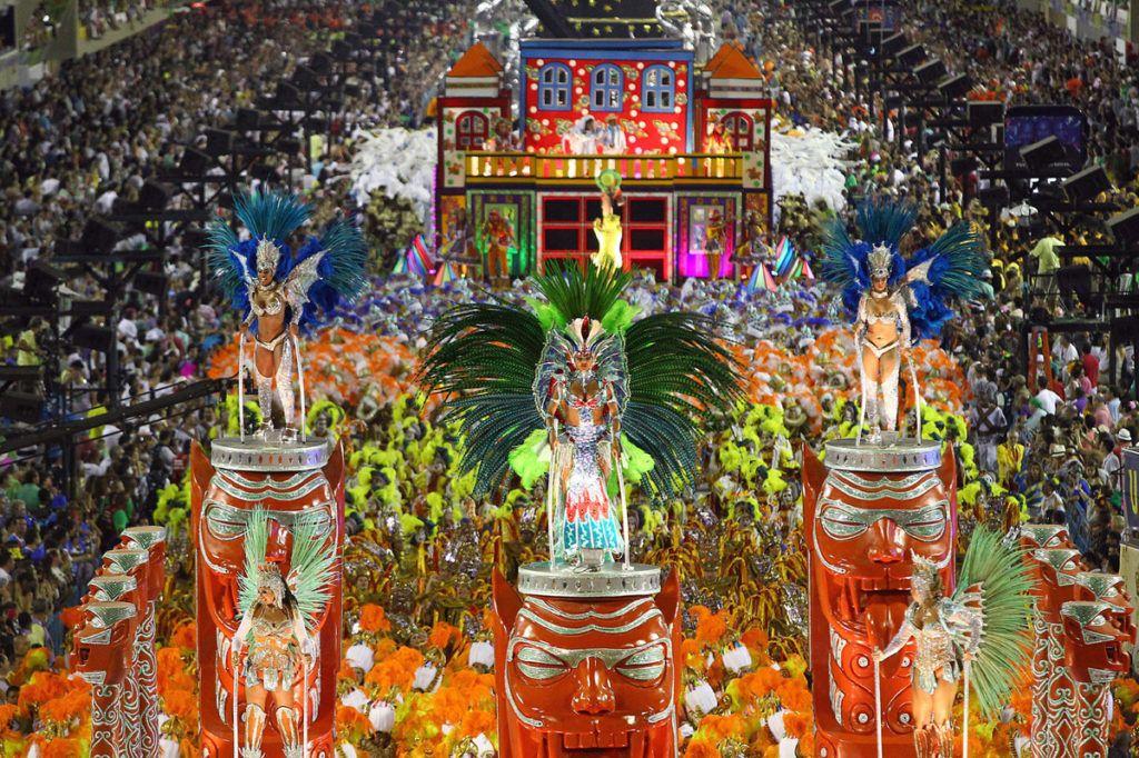 Бразилия, Рио Де Жанейро, Бразильский карнавал