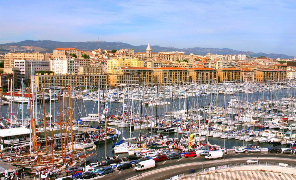 Франция, Марсель, Старый порт