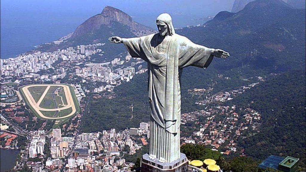 Бразилия, Рио Де Жанейро, Статуя Христа