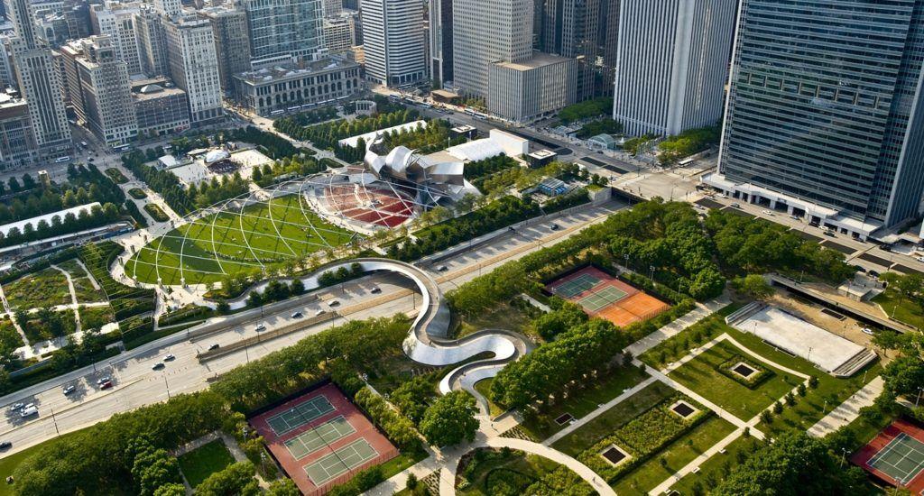 Парк «Миллениум» в Чикаго