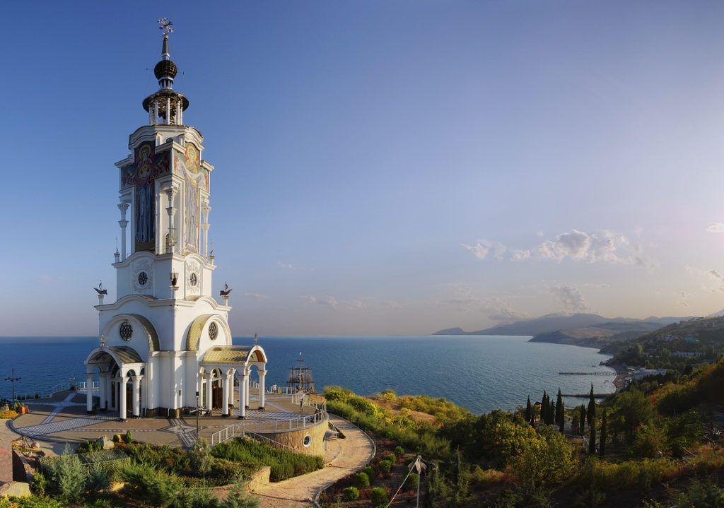 Крым, Алушта, Св. Николая Мирликийского