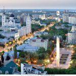 Город Воронеж (вид сверху)