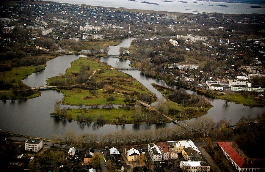 Гоород Вышний Волочек в Тверской области