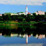 Город Могилев в Белоруссии