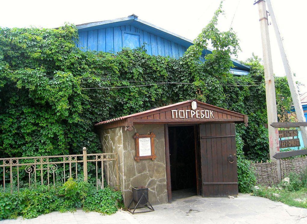 """Кафе """"Погребок"""" в Вешенской станице"""