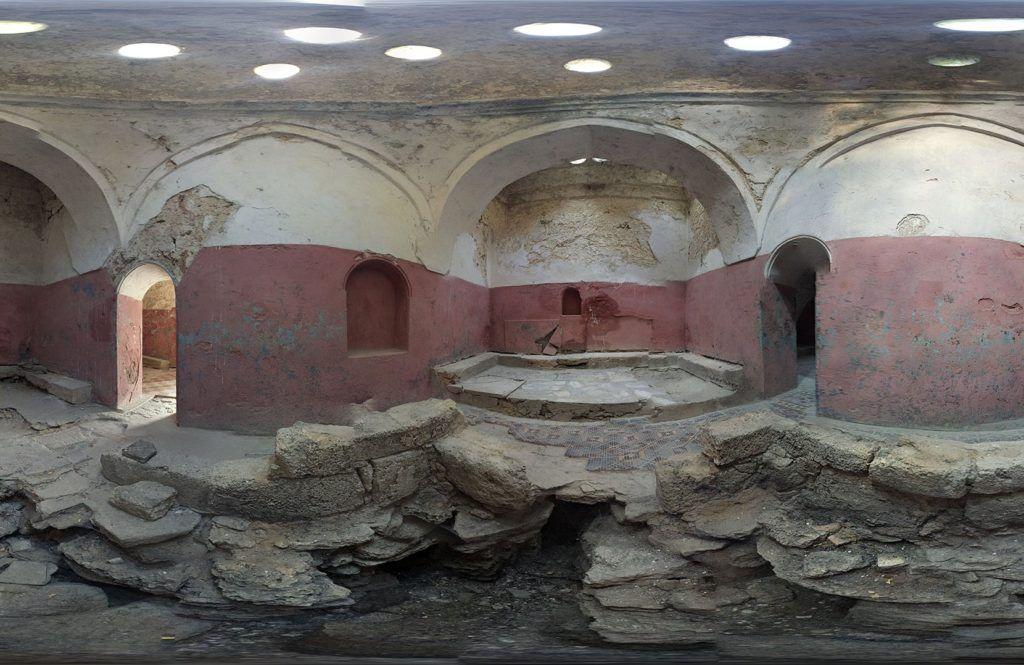 Древние турецкие общественные бани в Евпатории