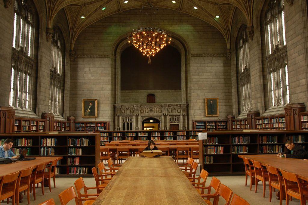 Библиотека чикагского университета