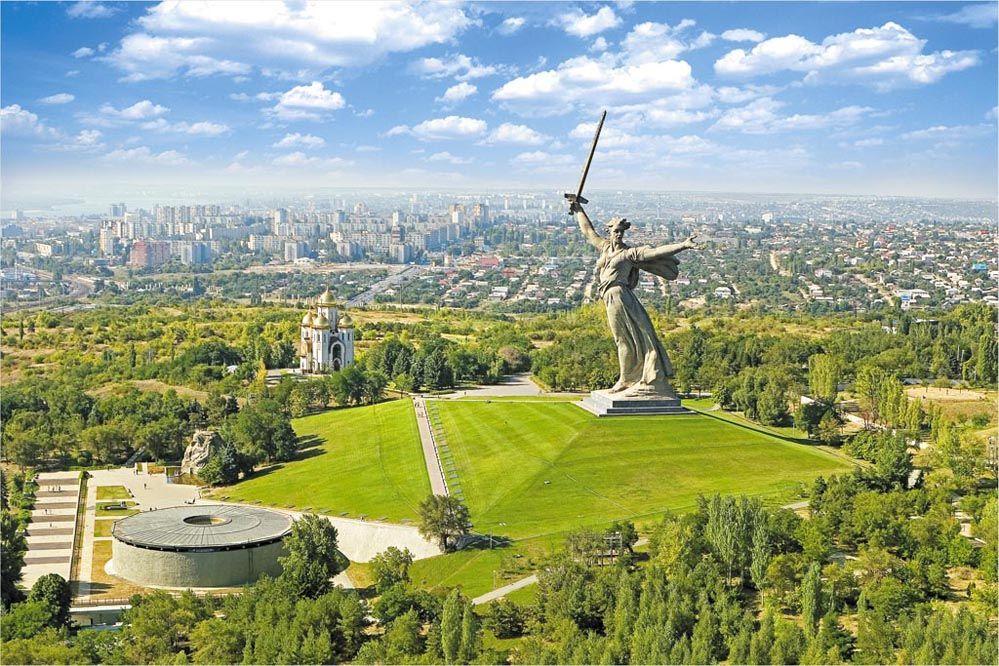 """Историко-архитектурный комплекс """"Мамаев Курган"""" в Волгограде"""