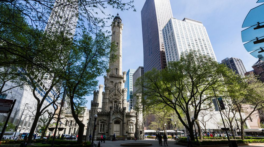 Водонапорная башня Чикаго