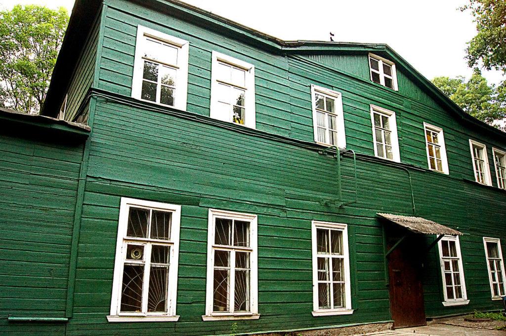 г. Красное село, Летний деревянный дворец великого князя Михаила Павловича
