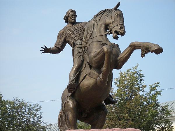 г.Рязань, Памятник Евпатию Коловрату