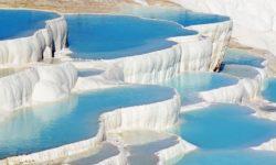 Нерукотворное чудо природы – Памуккале, Турция