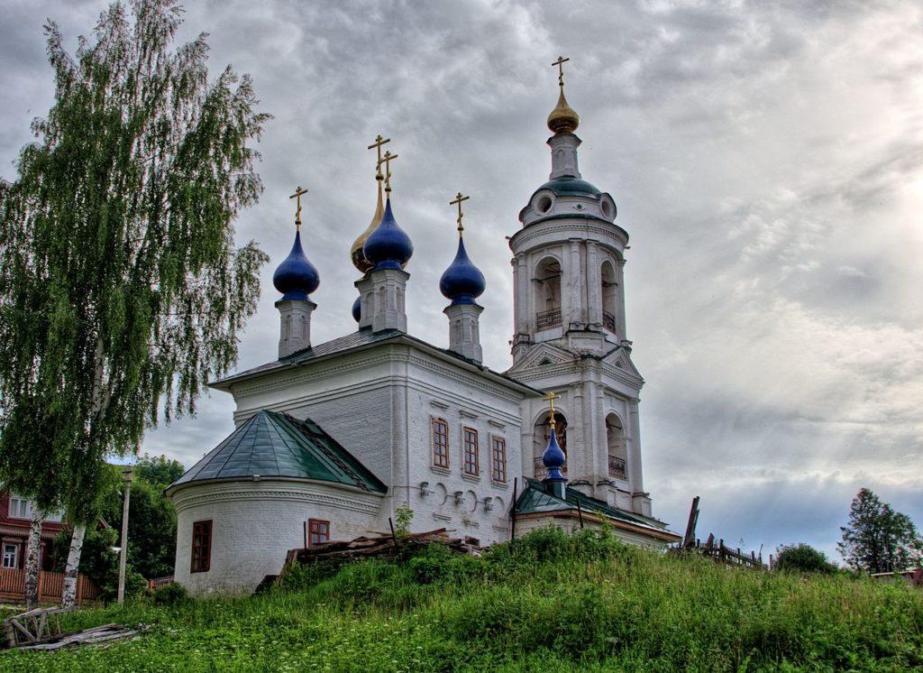 Церковь святой Варвары Великомученницы в Плёсе