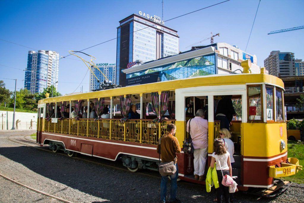 Ретро-трамвай Одессы