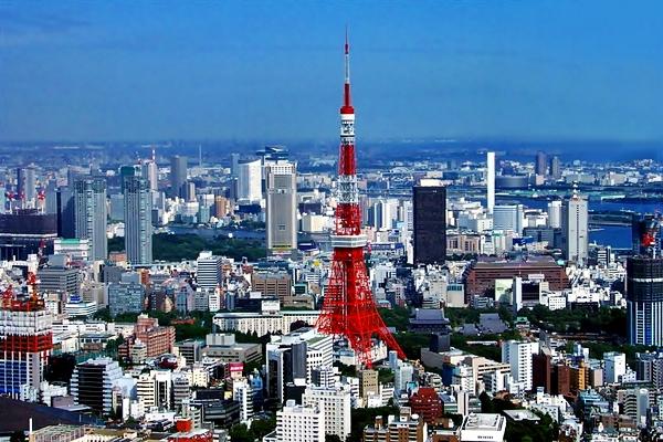 телебашня в Токио