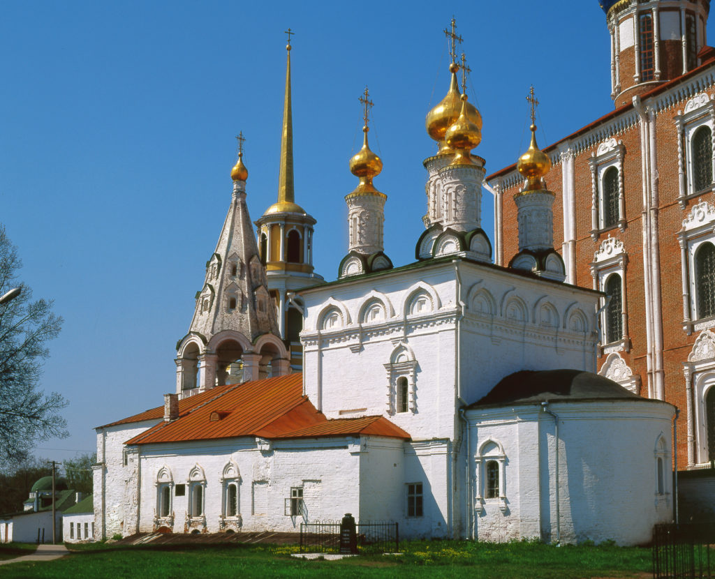 Спасский мужской монастырь в Рязанском Кремле