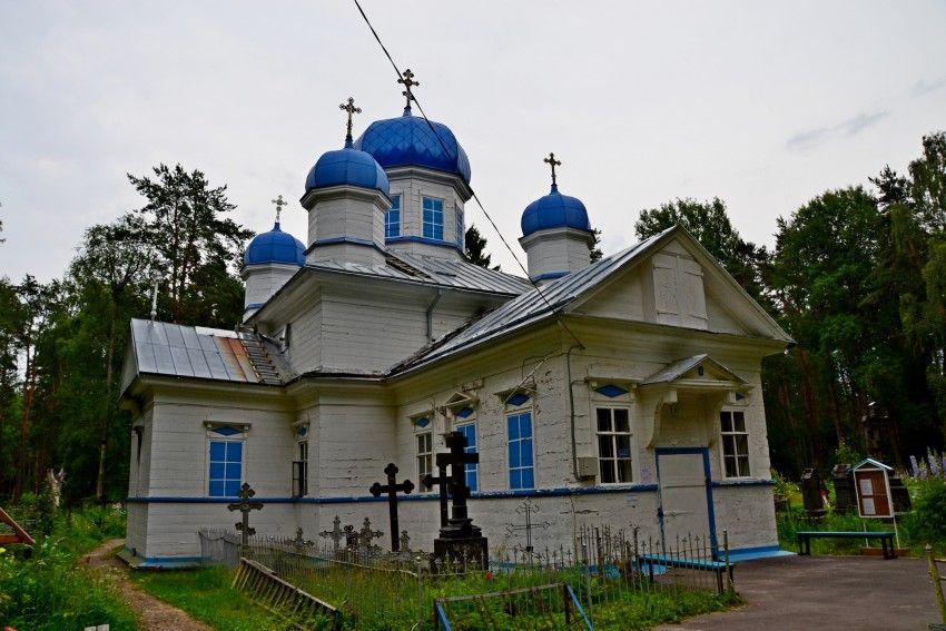 Церковь Успения Пресвятой Богородицы в городе Олонец
