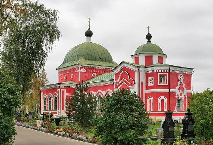 Церковь Георгия Победоносца в Рыбинске